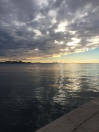 Zadar's sea